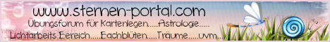 ... DAS Portal für alle esoterisch Interessierten ...  Wir sind eine kleine Gruppe von esoterisch Interessierten, die sich in familiärem, freundlichen und hilfsbereitem Klima vorwiegend mit dem Kartenlegen- u. deuten beschäftigen. Unsere Kartendecks bestehen aus Lenormand-Kipper-Tarot-Aimees und andere. Andere Themenbereiche wie z.B. Bachblüten, Astrologie und der Austausch an sich kommen bei uns auch nicht zu kurz.  -schaut einfach mal bei uns rein, wir freuen uns auf euch-