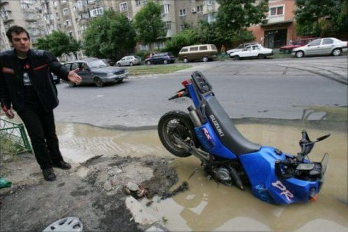 Nietypowe wypadki drogowe #2 14