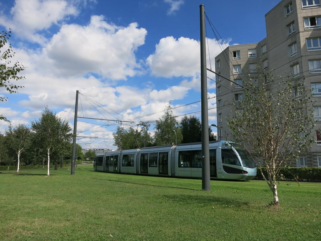 Anzin Hotel De Ville Tram