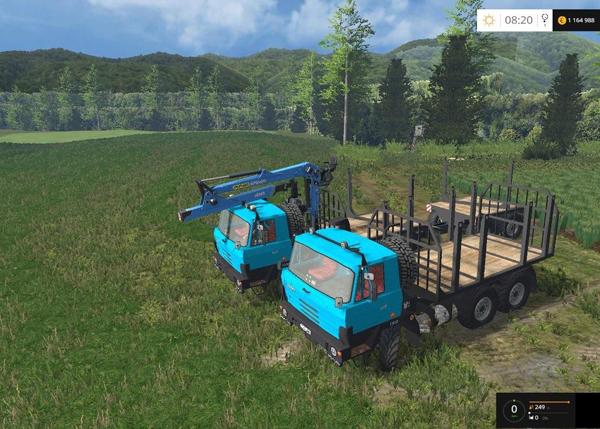 Tatra 815 Forest Truck v1.0