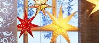 ikea tischleuchte lampe stern strala weihnachtsstern weihnachten deko 45cm neu ebay. Black Bedroom Furniture Sets. Home Design Ideas