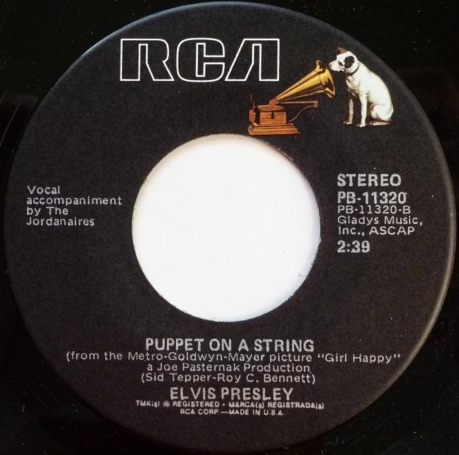 Teddy Bear / Puppet On A String Teddyside2adsok