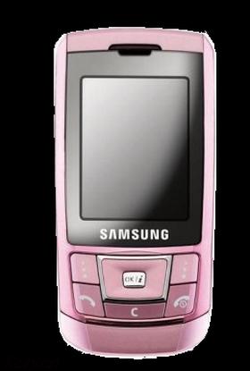 Мобильный телефон samsung d900i red