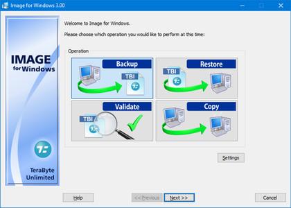 TeraByte Drive Image Backup Restore Suite v3.12 incl. Portable