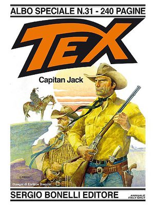 Tex Albo Speciale N° 31 - Capitan Jacx (2016)