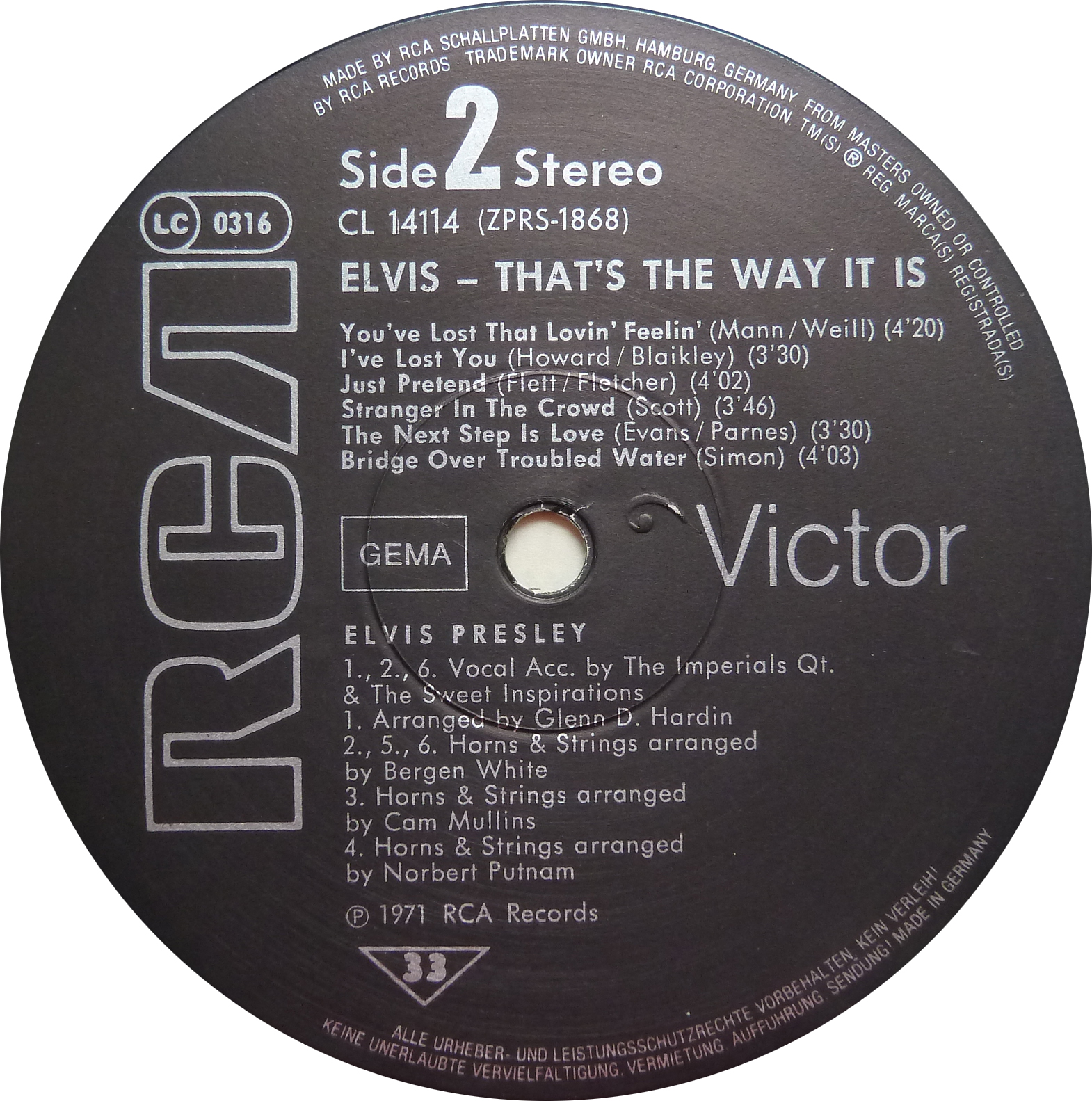 THAT`S THE WAY IT IS Thatstheway82side28kk3o