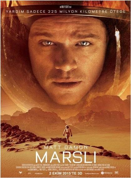 The Martian – Marslı 2015 DVDRip XviD Türkçe Altyazı – Tek Link