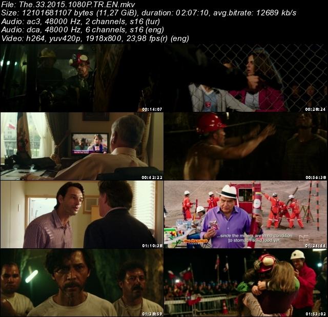 The 33 (2015) 1080p film indir