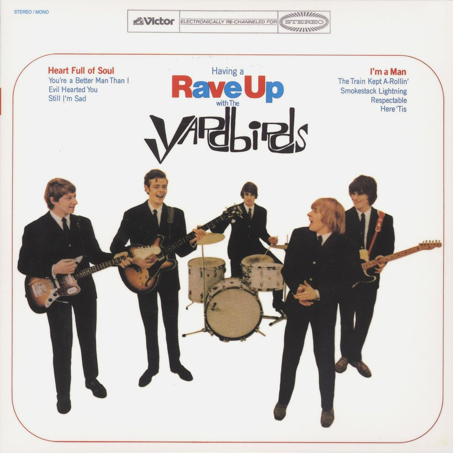 The Yardbirds (Jeff Beck) - Having A Rave Up (1965)