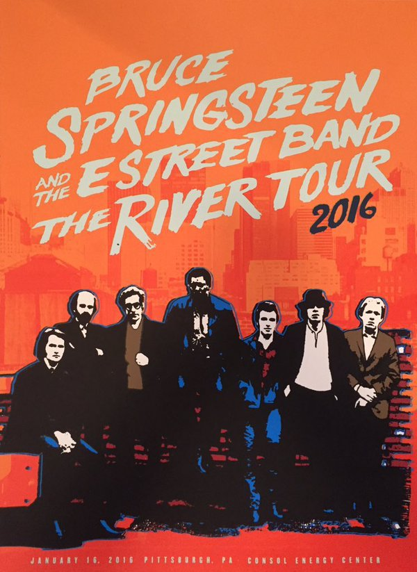 Bruce Springsteen & The E Street Band - 2016/01/16 Pittsburgh, PA (2016)