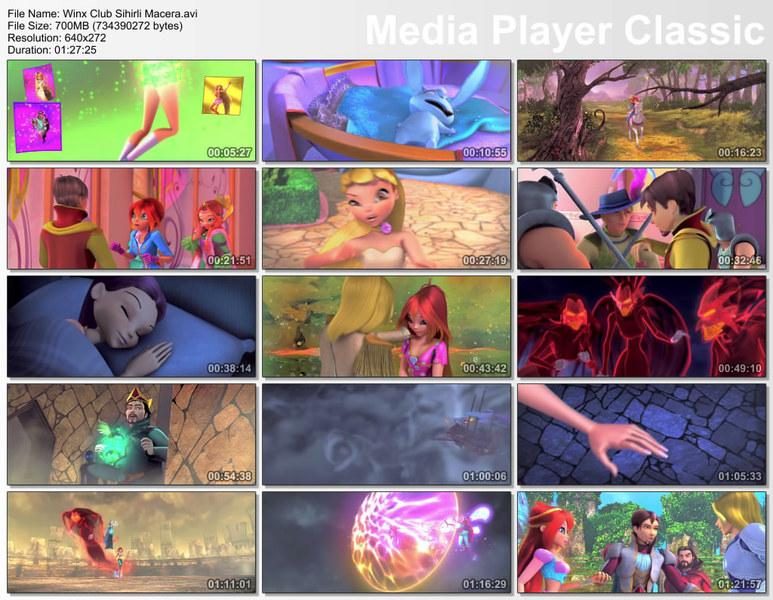Winx Club 3D: Sihirli Macera Ekran Görüntüsü 1