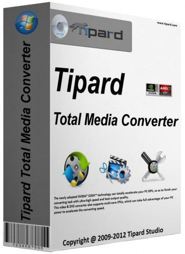 : Tipard Total Media Converter 8.1.6 Multilingual inkl.German