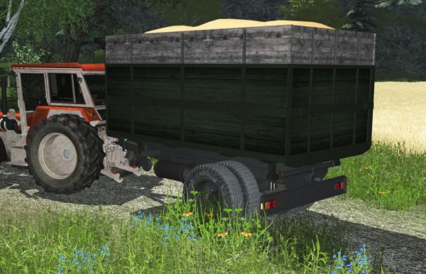 Tipper Truck with building v2.0 MR