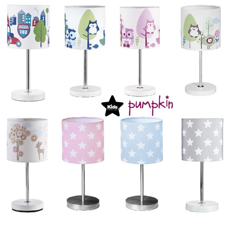 Kids concept tischlampe kinderzimmer pumpkin star turbo 33cm rosa blau gr n ebay - Tischlampe kinderzimmer ...