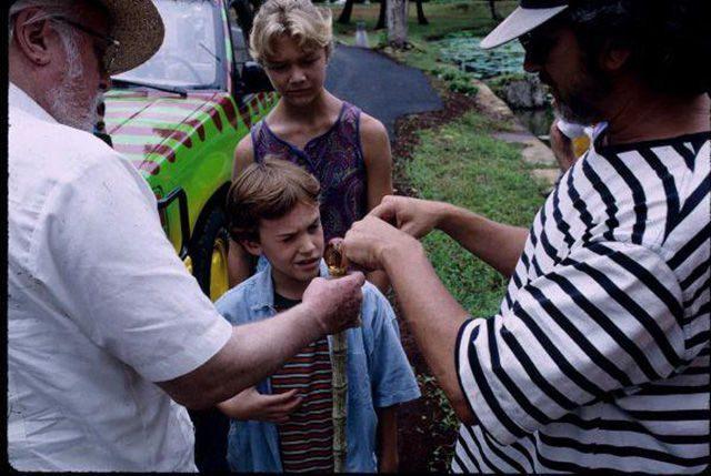Za kulisami filmów: Jurassic Park 28