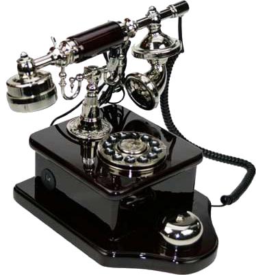 �leti�im ��in Eski Telefonlar PNG