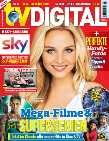 TV Digital Fernsehzeitschrift No 06 vom 17. März 2018