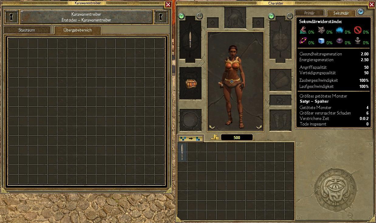 Titan Quest - [AE Tutorial & Mod] Inventory Mod: Inventar erweitern
