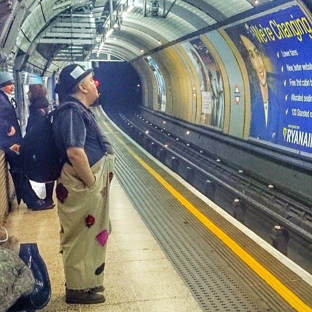 Najdziwniejsi pasażerowie metra 11