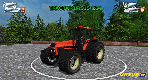 Tractor Ursus 1634 v1.0