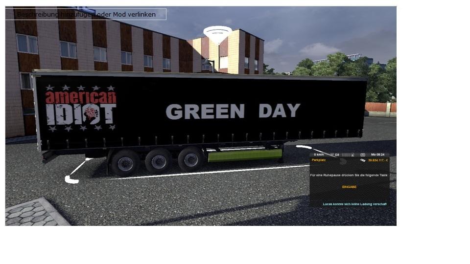 [ETS2]GreenDay RockBand Skin Trailer Trailerskin8lktk