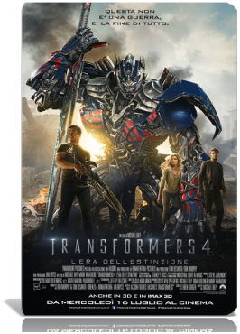 Transformers 4 L'Era Dell'Estinzione STREAMING ITA (2014)