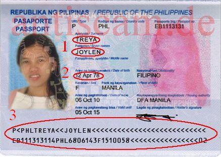 passnummer