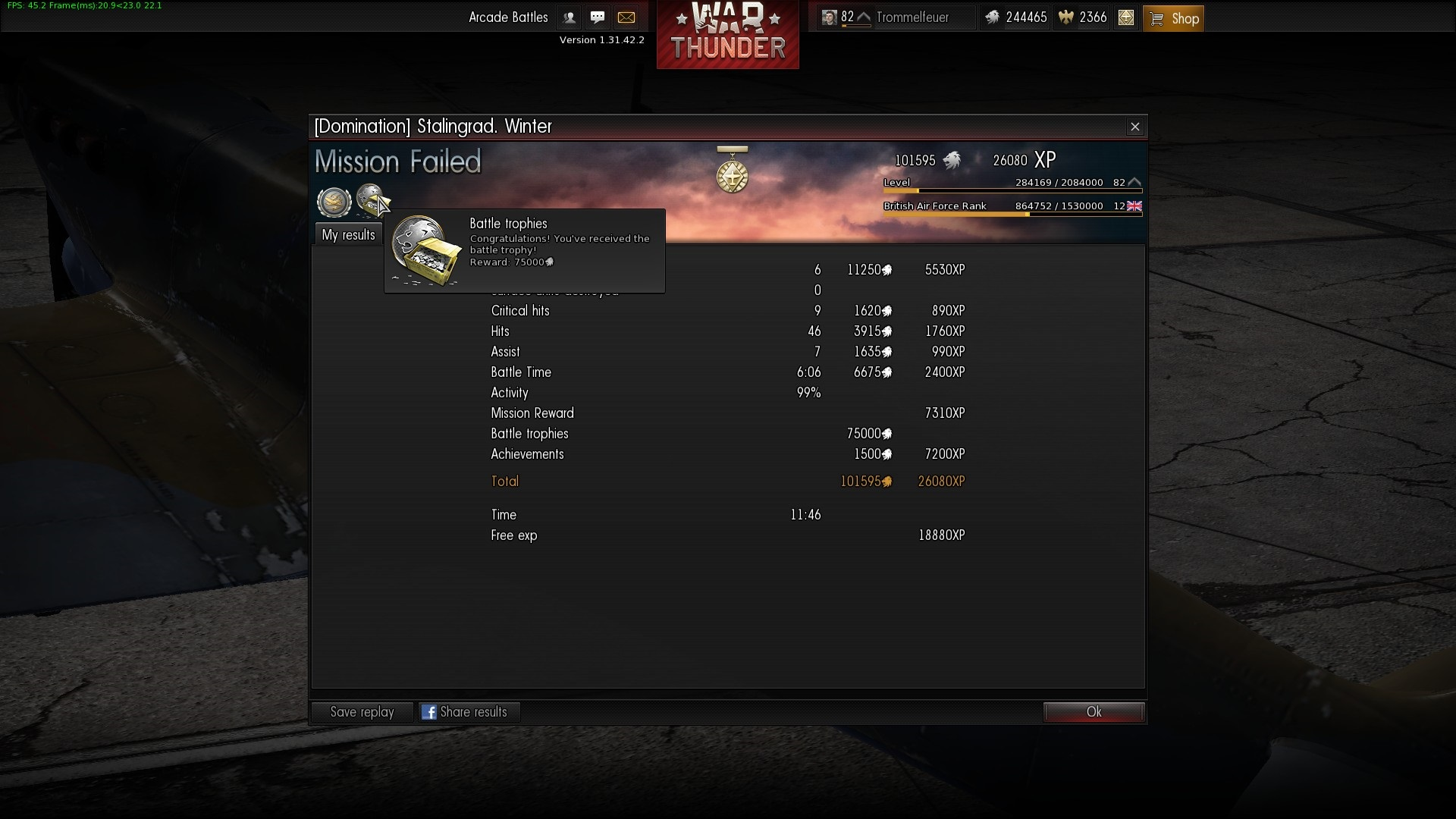ranking war thunder