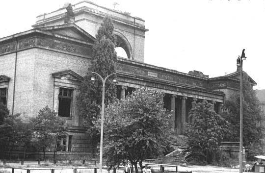 Wrocław  1945 Zniszczenia 14