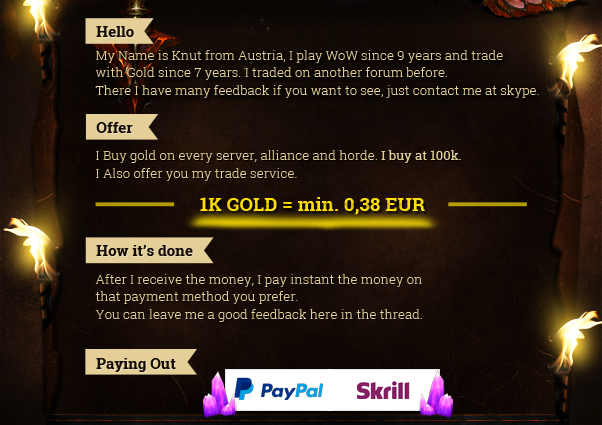 want to purchase wow gold on all server