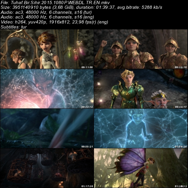 Tuhaf Bir Sihir (2015) 1080p Film indir