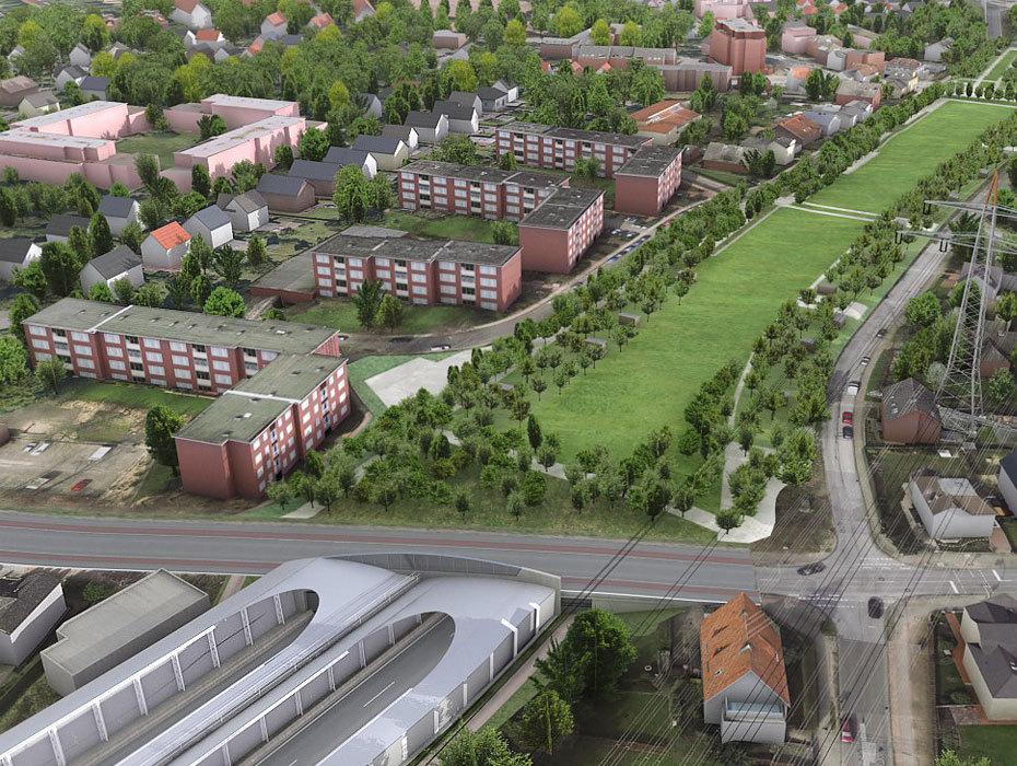 Hamburg infrastruktur ausbau autobahn a7 hamburger for Tunnel schnelsen