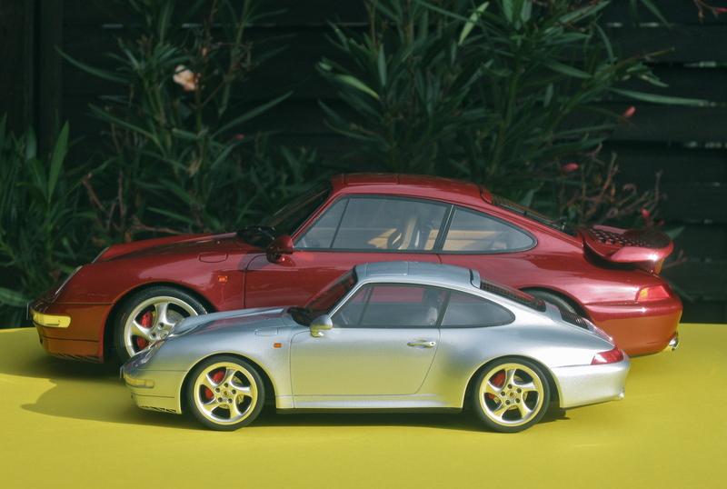 1 12 Porsche 993 Turbo In Dunkelrot Gt Spirit