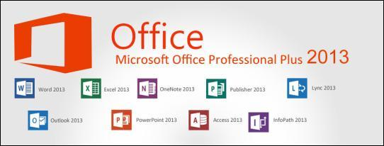 Microsoft Office Professional Plus 2013 - 64 Bit (13/5/2015)