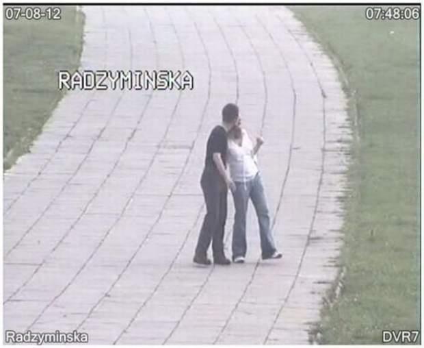 Gorąca para na ulicy Radzymińskiej 1