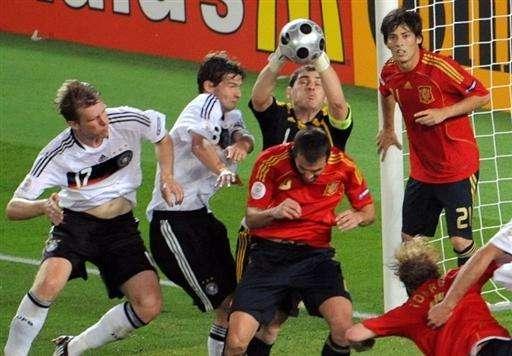 ME 2008: Hiszpania - Niemcy (finał) 11