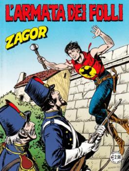 Zagor N.572 – L'armata dei Folli