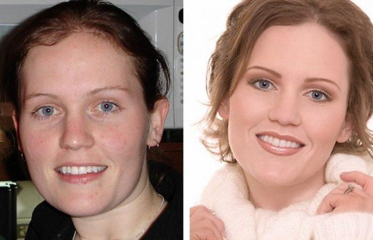 Ile zmienia dobry makijaż? #2 4