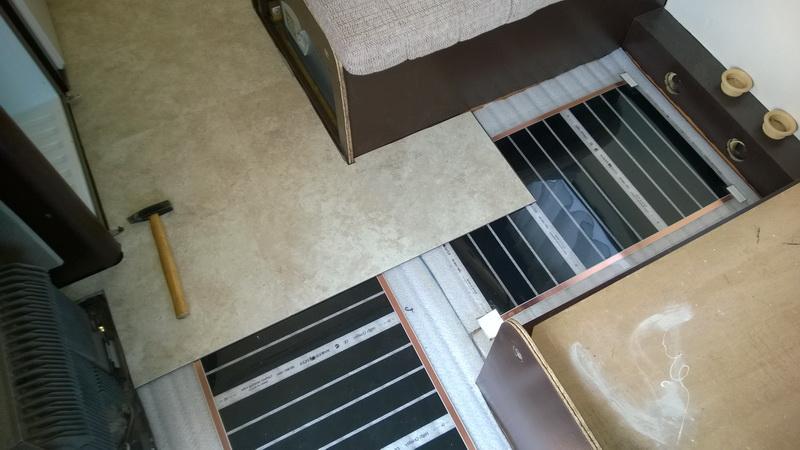 Fußboden Im Wohnmobil ~ Hymer camp fußbodenerneuerung u alte wohnmobile