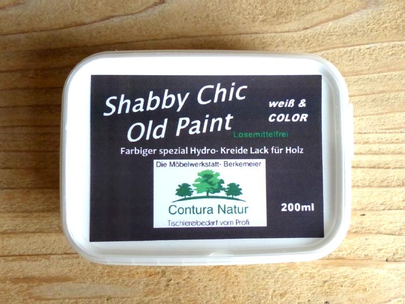 Kerzenständer Holz Shabby Chic ~ SHABBY CHIC Möbellack Kreidefarbe Weiß Creme Möbelfarbe Vintage