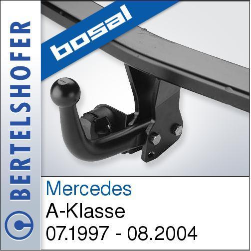 Neu Für Mercedes A-Klasse 07.1997-08.2004 ANHÄNGERKUPPLUNG starr