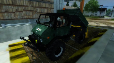 Unimog U 84 406 Series v 1.1 Forest Edition