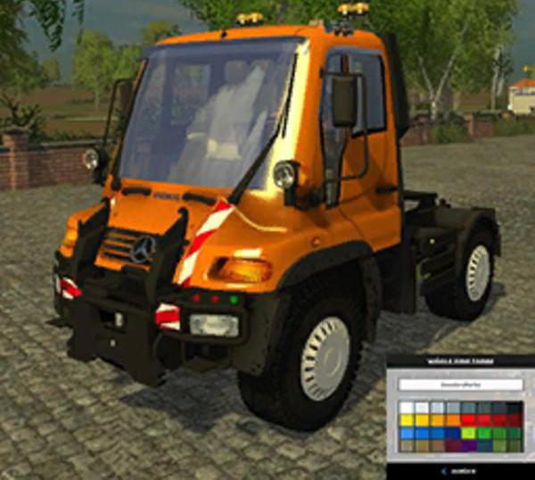 Unimog U400 WB v1.0 Testfahrt