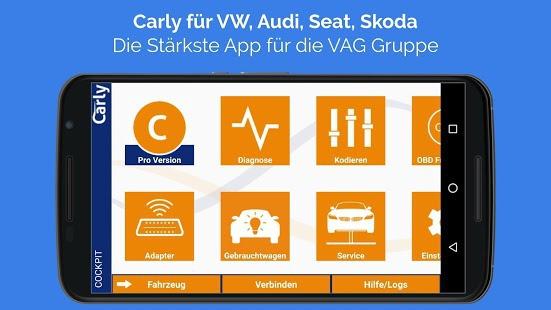 Carly für VW | Carly für Vag Pro v9.91