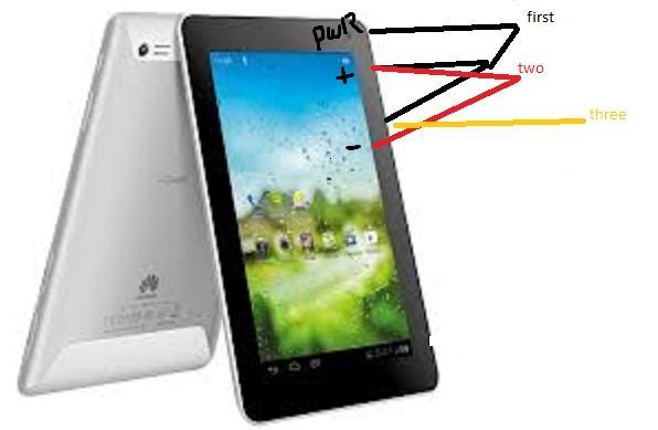 Huawei Mediapad 7 Lite فك فقل النمط