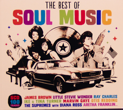 VA - The Best Of Soul Music [5CD] (2014) .mp3 - V0