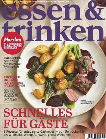 Essen und Trinken Magazin Januar No 01 2019