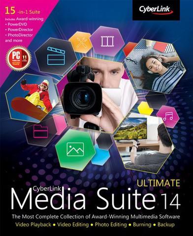 : CyberLink Media Suite Ultimate v14.0.0627.0
