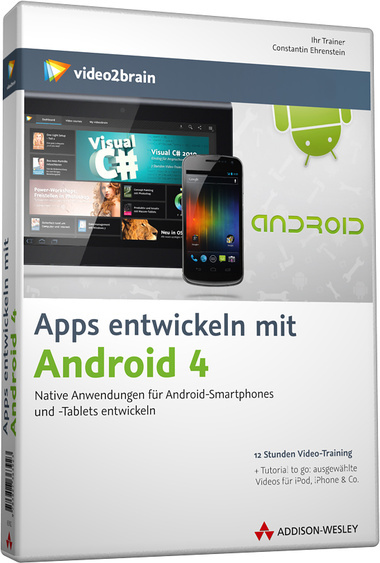 video2brain apps entwickeln mit android 4. Black Bedroom Furniture Sets. Home Design Ideas
