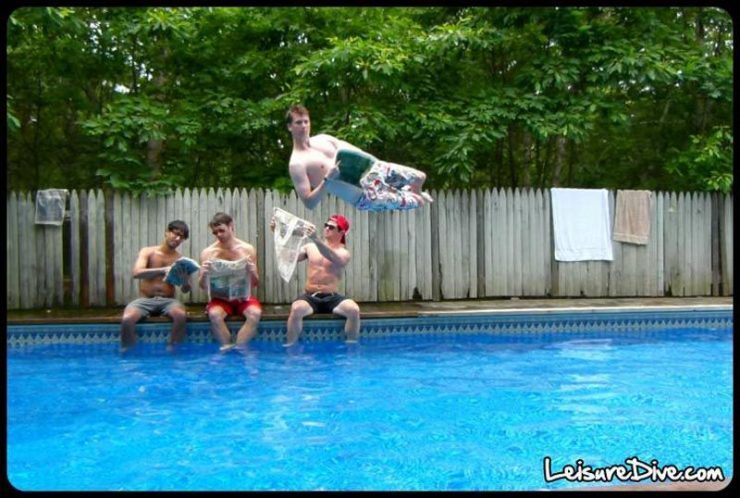 Zabawne zdjęcia przy skokach do basenu 37